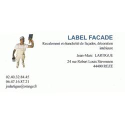 label facade